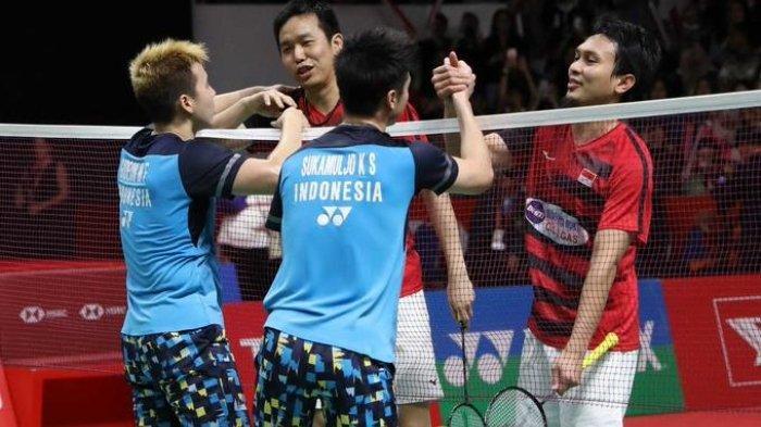 The Minions Vs The Daddies Bisa Jumpa di Final Badminton Olimpiade Tokyo, Ini Skenarionya