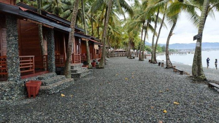 Marina Cottages di Jl Tanjung Api, Desa Labuan, Kecamatan Ratolindo, Kota Ampana, Kabupaten Tojo Una-una, Sulawesi Tengah.