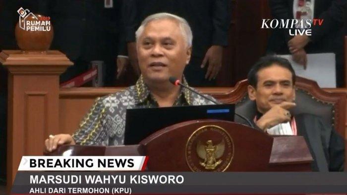 Tim Hukum Prabowo-Sandi Minta Maaf ke Ahli KPU seusai  Beri Cecaran; Tanpa Maksud Saya Merendahkan
