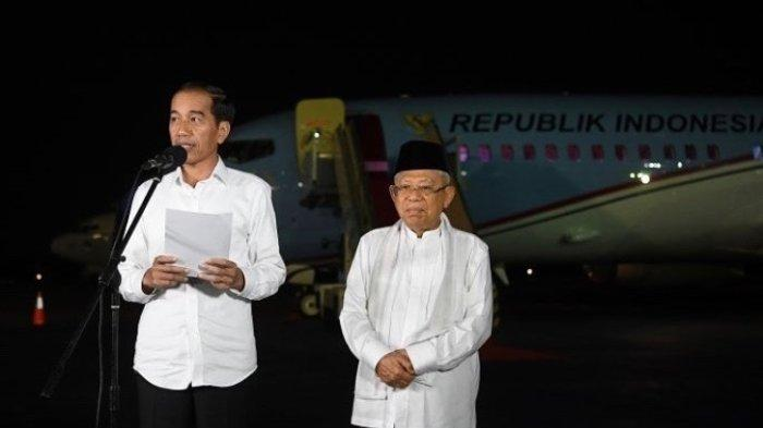 10 Janji Joko Widodo-Maruf Amin Jika Terpilih Kembali untuk Periode 2019-2024