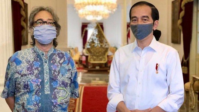 Di Depan Jokowi, Butet Kartaredjasa Keceplosan Ngomong Kasar: Karena Nggak Canggung, Ngelantur Aja