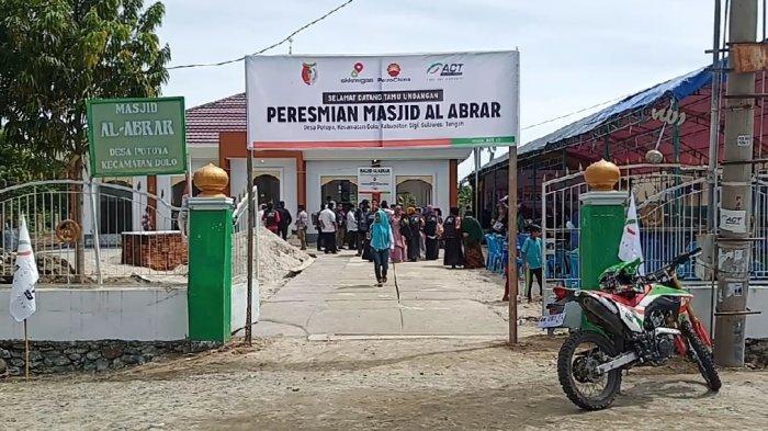 5 Bulan Pasca Bencana Gempa dan Tsunami, ACT Sudah Bangun 10 Masjid Permanen di Sulteng
