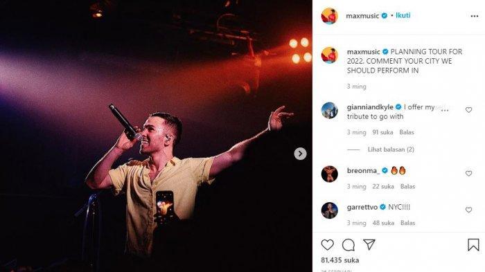Bakal Tampil di TOP 4 Indonesian Idol, Max Schneider: Saya Akan Membawakan Lagu 'Blueberry Eyes'