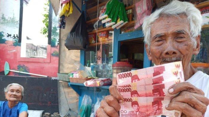 Kasihan, Kakek Nenek Penjual Rokok di Solo Ditipu Pembeli dengan Uang Palsu Senilai Rp 400 Ribu