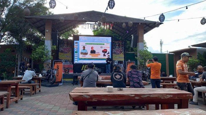 Kalla Group menghadirkan motor berkapasitas 250 CC di Sulawesi Tengah (Sulteng) melalui media gathering di Cafe 168 House di Jl Setia Budi, Kelurahan Besusu Tengah, Kecamatan Palu Timur, Kota Palu, Sulawesi Tengah, Sabtu, 20 Maret 2021, pukul 16.00 Wita.