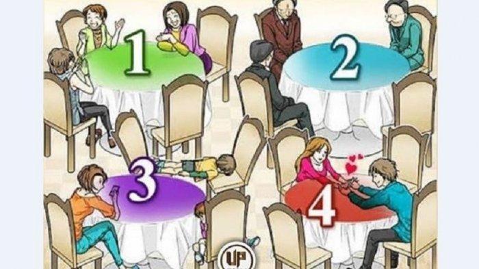 Tes Kepribadian: Jika Harus Gabung di 4 Meja Ini, Mana yang Kamu Hindari? Bakal Ungkapkan Stresmu