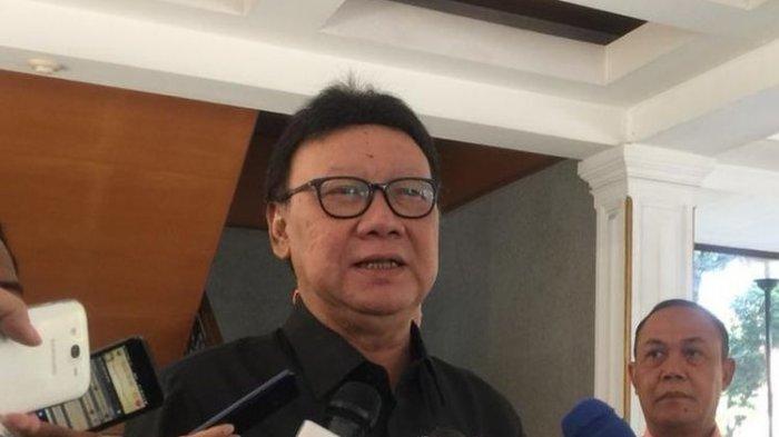 Menpan RB Tjahjo Kumolo Mengatakan Tak Ada Penerimaan CPNS pada Tahun 2020 dan 2021