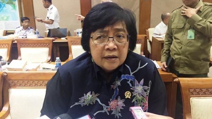 Menteri Lingkungan Hidup dan Kehutanan, Siti Nurbaya