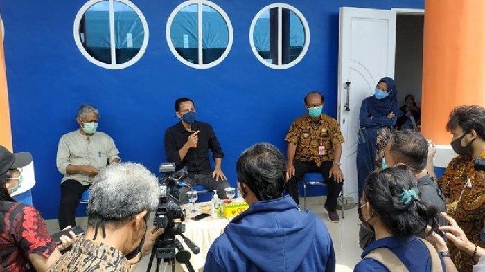 Menteri Nadiem Makarim Serap Curhat Guru di Palu Sulteng