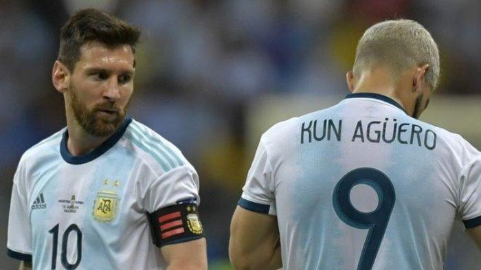 Sergio Aguero Marah Besar, Minta Putus Kontrak dengan Barcelona Karena Ditinggal Messi