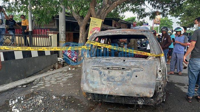 Minibus Hangus Terbakar di SPBU Tondo Kota Palu, Begini Kronologinya