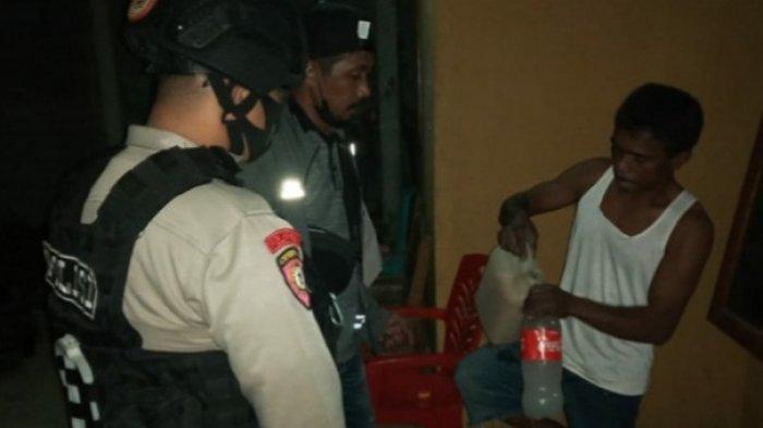 Dua Rumah Warga di Sigi Biromaru Digrebek, Polisi Temukan Minuman Saguer