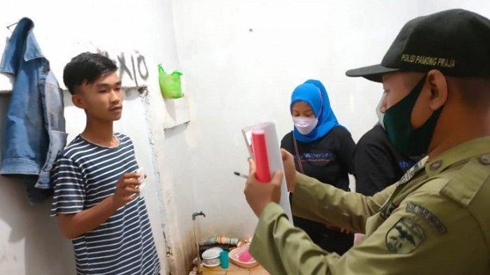 Operasi Pekat di Ampana Kota, Polisi Sita Puluhan Kantong Miras Hingga Amankan Muda Mudi dalam Kos