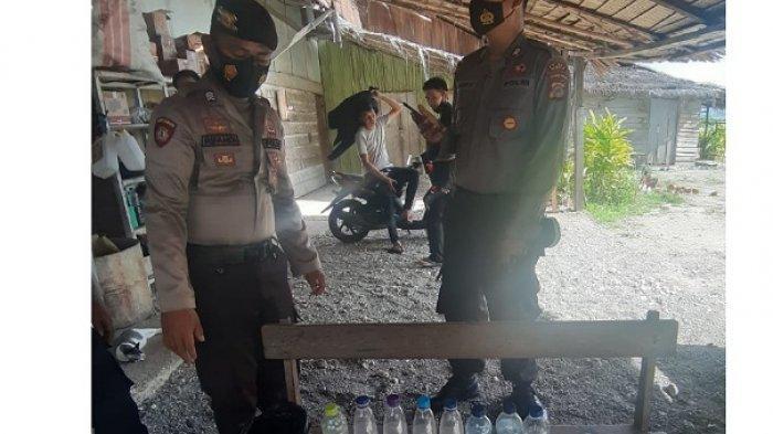Kios IRT di Bungin Banggai Jual Miras, Akhirnya Digerebek Polisi