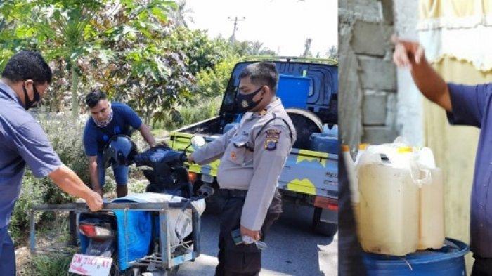 Ratusan Liter Cap Tikus di Sigi Disita, Polisi: Berantas Pekat Jelang Idulfitri