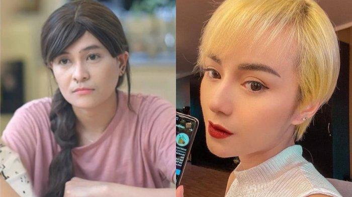 Bak Tukar Penampilan, Mita The Virgin Feminim Rambut Panjang dan Dara Potong Rambut Super Pendek