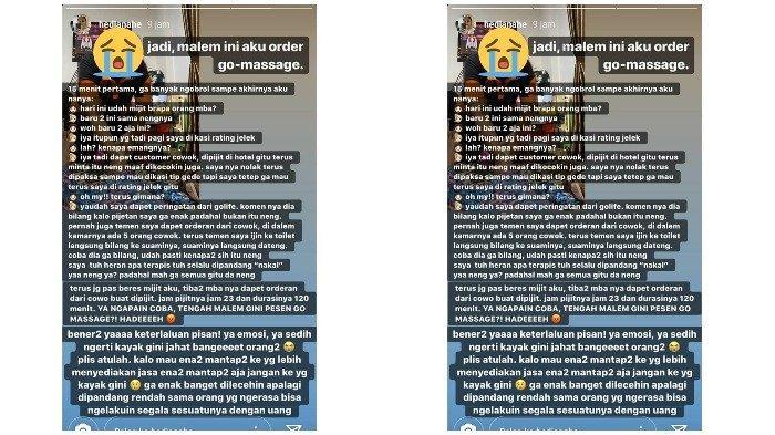 Viral Kisah Mitra Go-Massage Diminta Pelanggan Beri Layanan 'Plus-plus', Apa Kata Gojek?