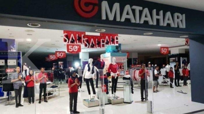 Rugi Hingga Rp617 Milyar, Matahari Department Store Tutup 7 Gerai