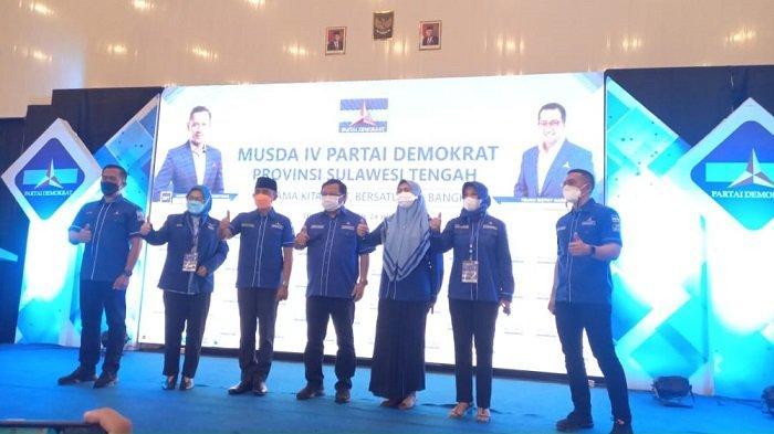 Anwar Hafid Terpilih jadi Calon Ketua Partai Demokrat Sulteng, Tunggu Keputusan DPP