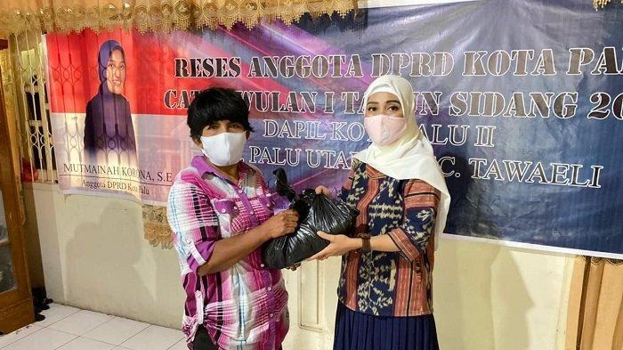 Reses Pertama 2021, Mutmainah Korona Dengar Usulan Ekonomi Perempuan UMKM dan Penerangan Jalan