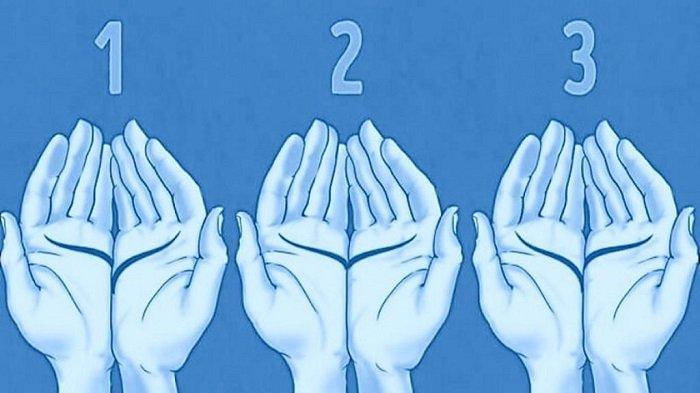 Tes Kepribadian: Gabungkan Telapak Tanganmu dan Temukan Garisnya! Ungkap Pola Pikirmu Memaknai Cinta