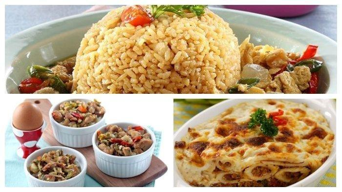 Aneka Resep Masakan Dimakan Bersama Keluarga: Nasi Goreng Siram Kikil hingga Nasi Kukus Gurih Pedas
