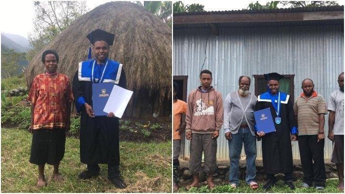 Kisah Wisudawan Terbaik Asal Papua, Wisuda Tak Bisa Dihadiri Orangtua karena Kendala Biaya