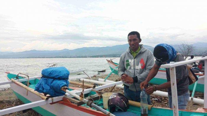Meski Musim Angin Kencang dan Ombak Tinggi, Nelayan Teluk Palu Tetap Melaut