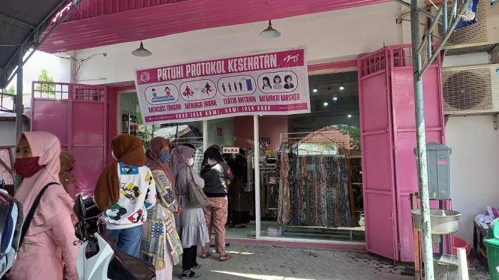Nims Shop Palu Perketat Protokol Kesehatan Jelang Lebaran