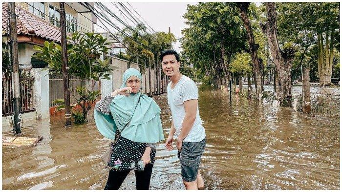 Sebut Banjir Keempat Kali Ini Lebih Parah, Nycta Gina: Dikira ke Gili Trawangan Kali, Naik Perahu