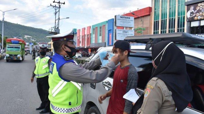 Ratusan Pelanggar Prokes Terjaring Operasi Yustisidi Luwuk Banggai
