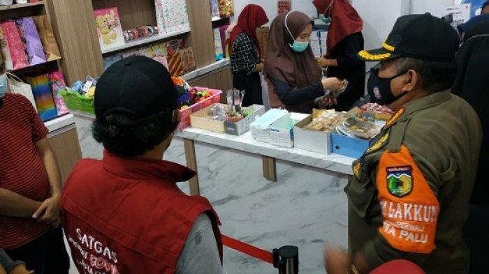 Operasi Yustisi Sasar Pusat Perbelanjaan di Palu: Pelanggar Prokes Terancam Denda Rp 2 Juta