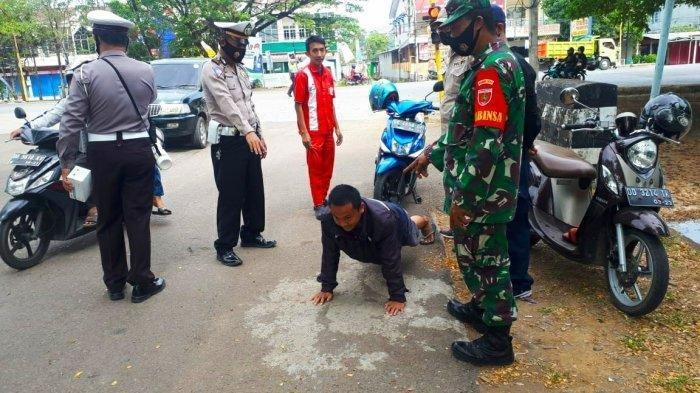 Sebulan, Operasi Yustisi di Kota Palu Jaring 250 Pelanggar Protokol Kesehatan