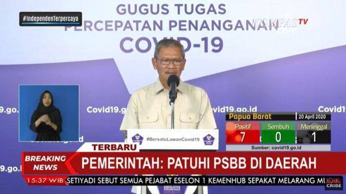 Update Corona di Indonesia per Senin, 20 April 2020: Total 6.760 Kasus Positif, 747 Pasien Sembuh