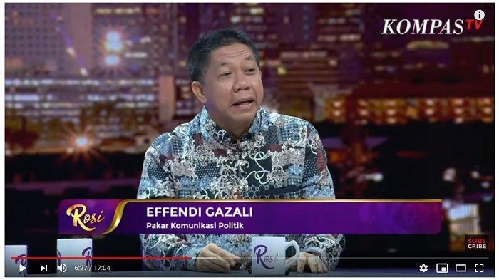 Soroti Pidato Prabowo Soal Kader Gerindra Jangan Gaduh yang Tidak Perlu, Effendi Gazali: Fadli Zon?