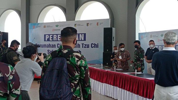 Panglima TNI Resmikan Huntap Cinta Kasih Tzu Chi untuk Korban Bencana di Palu