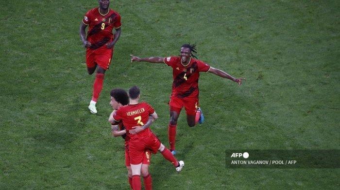 Hasil Euro 2020 - Belgia Menang 2-0 Lawan Finlandia, Lukaku Cs Jadi Tim Ketiga dengan Nilai Sempurna