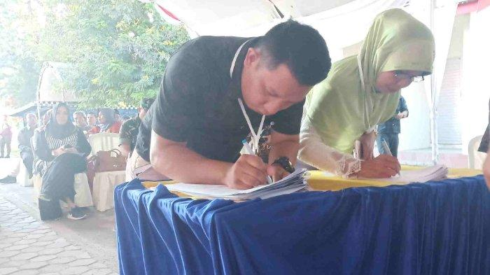 Sempat Alami Masalah, Penetapan Rekapitulasi Pemilu di Kota Palu Berjalan Lancar