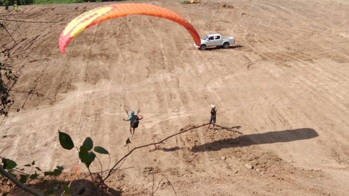 Peserta Latihan Paralayang di Parimo Sulteng di Hari ke-5 Mulai Mengerti Cara Take Off dan Landing