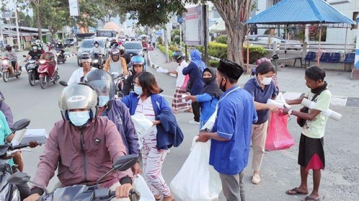 Ramadan Berkah Bersama Nilam Sari Lawira, 13.500 Paket Iftar untuk Penyintas Bencana