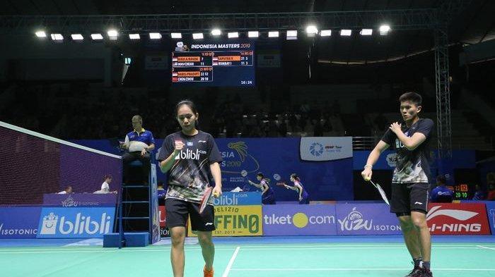 Update Hasil Indonesia Masters 2019: Gagal Sabet Gelar, Adnan/Mychelle Akui Kurang Sabar
