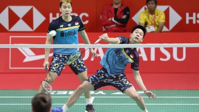 Sedang Berlangsung, Ini Live Streaming: Marcus/Kevin Vs Kamura/Sonoda di Semifinal Sudirman Cup 2019