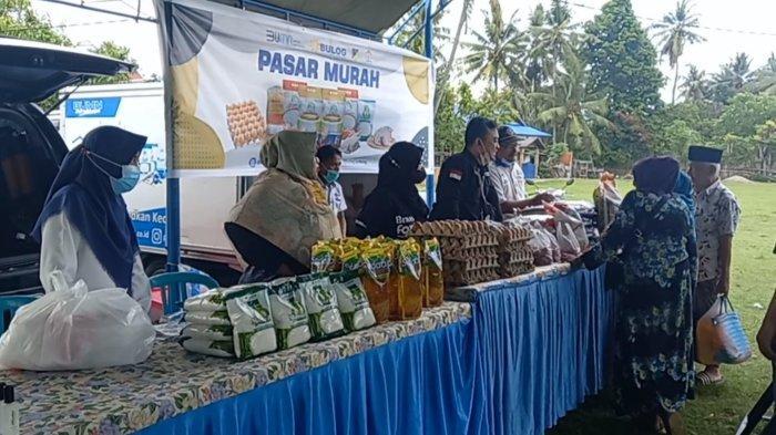Hari Terakhir Pasar Murah Tawaeli Ramai Dikunjungi Masyarakat