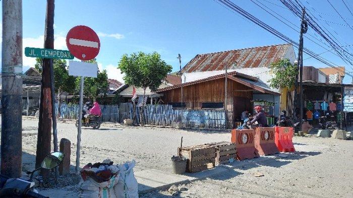 Pasca-penertiban PKL, Lalulintas di Jl Cempedak Palu Kini jadi Satu Arah
