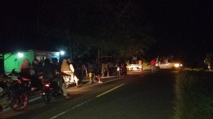 Semarak Idulfitri di Donggala, Motor dan Mobil Pawai di Desa Talaga