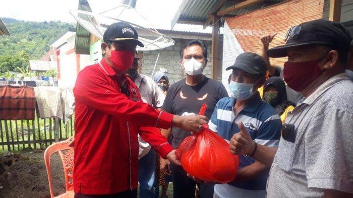 PDIP Banggai Bantu Korban Banjir di 5 Kecamatan
