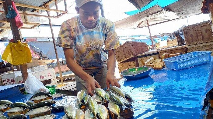 Cuaca Buruk Sebabkan Stok Langka, Harga Ikan Katombo di Pasar Tradisional Palu Naik 2 Kali Lipat