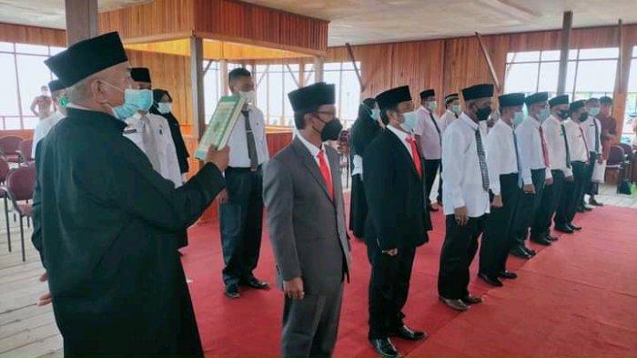 Bupati Parimo Kembali Lantik Pejabat Eselon, Berikut Nama-namanya