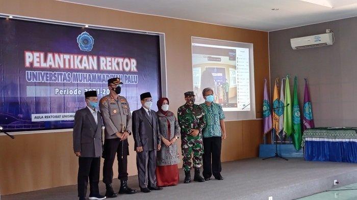 Rektor Resmi Dilantik, Rajindra Pimpin Universitas Muhammadiyah Palu untuk Kedua Kali