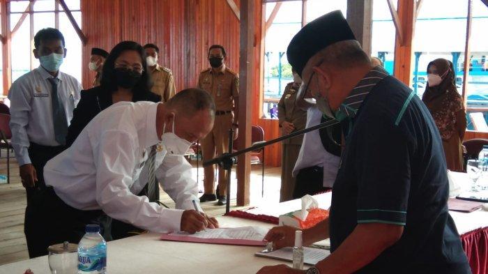 23 Pejabat Dilantik Bupati Parimo, Simak Nama dan Jabatannya